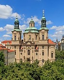 St. Nicholas Church, Prague, 1755