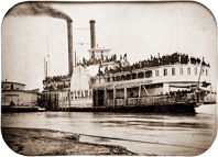 Steamboat 'Sultana', 1863-5