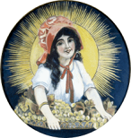 Sun-Maid Raisins, 1912