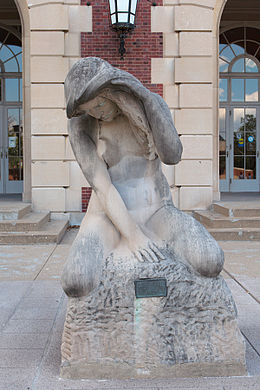 'Fountain of Creation', by Lorado Taft (1860-1936), 1923