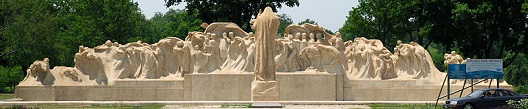 'Fountain of Time', by Lorado Taft (1860-1936), 1910-22