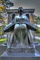 'The Recording Angel', by Lorado Taft (1860-1936), 1923