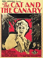 'The Cat and the Canary', 1927