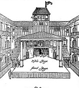 The Fortune Playhouse, 1600