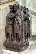 The Four Tetrarchs, 305 C.E.
