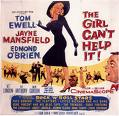'The Girl Cant Help It' starring Jayne Mansfield (1933-67), 1956