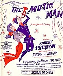 'The Music Man', 1957