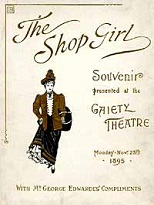 'The Shop Girl', 1894