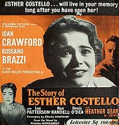 'The Story of Esther Costello', 1957