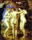 'The Three Graces II' by Peter Paul Rubens (1577-1640), 1638