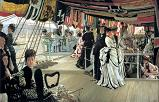 'The Ball on Shipboard' by James Tissot, 1874