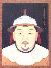 Emperor Toghon Temur (Yuan Sun Di) of China (1320-70)