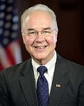 Tom Price of the U.S. (1954-)