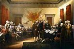 'The Signing of the Declaration of Independence' by John Trumbull (1756-1843)