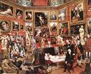 'The Tribuna of the Uffizi' by Johan Zoffany, 1772-8