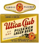 Utica Club Beer