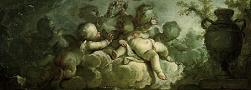 'Playing Putti on Clouds' by Dirk van der Aa, 1773