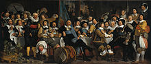 'The Celebration of the Peace of Münster', by Bartholomeus van der Helst (1613-70)