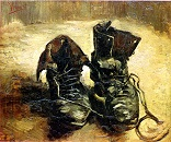 'Shoes' by Vincent van Gogh (1853-90)