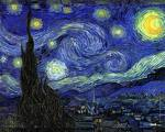'Starry Night' by Vincent van Gogh (1853-90), 1889