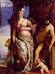 'Wisdom and Strength' by Paolo Veronese (1528-88), 1580