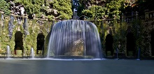 Oval Fountain in the Villa d'Este