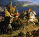 Archduke Charles and Duc de Vendome after the Battle of Vila Viciosa, Dec. 10, 1710