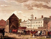 Walnut Street Jail, 1773