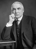Warren Gamaliel Harding of the U.S. (1865-1923)