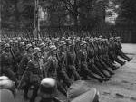 Nazis Marching Through Warsaw, Sept. 27, 1939
