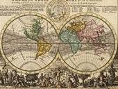 World Map by Herman Moll, 1736